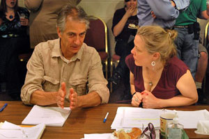 David Strathairn and Kathryn Meisle