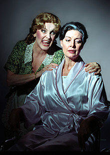 Millicent Martin and Leslie Denniston