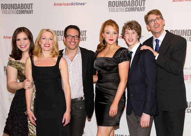 Lindsay Mendez, Sherie Rene Scott, Michael Mayer, Betsy Wolfe, Eamon Foley, and Dick Scanlan