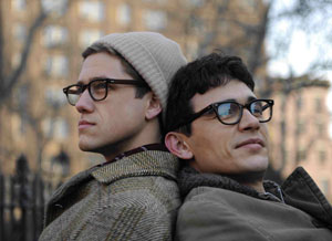 Aaron Tveit and James Franco in Howl
