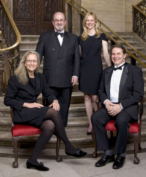 Annie Leibovitz, Salman Rushdie, Laura Linney