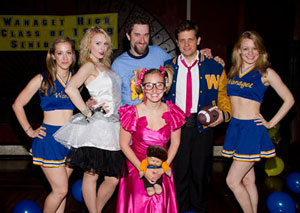 Victoria Broadhurst, Kate Wood Riley, Dustin Diamond,
