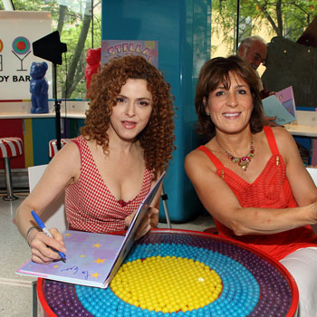 Bernadette Peters and Liz Murphy