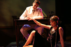 Michael Shawn Lewis and Rachel Moulton in This Side of Paradise (© Dixie Sheridan)