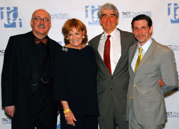 Simon Jones, Cynthia Harris, Sam Waterston, and Scott Alan Evans