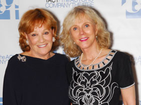 Cynthia Harris and Blythe Danner