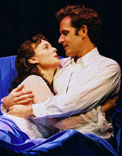 Melissa Errico and Malcolm Getsin Amour(Photo: Joan Marcus)
