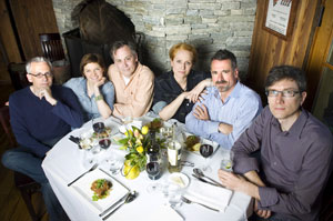 Donald Margulies, Mary Bacon, David Aaron Baker,