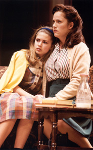 Emily Graham-Handley andDonna Lynne Champlinin Hollywood Arms(Photo: Joan Marcus)