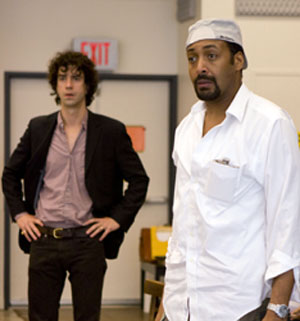 Hamish Linklater and Jesse L. Martin