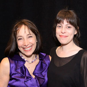 Didi Conn and TFANA Associate Artistic Director Arin Arbus
