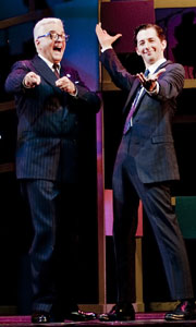 John O'Hurley and Josh Grisetti in