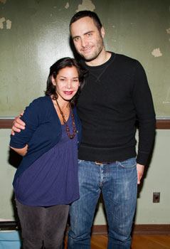 Daphne Rubin-Vega and Dominic Fumusa
