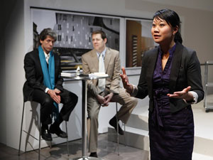 Joris Stuyck, John Bolton, and Ann Hu