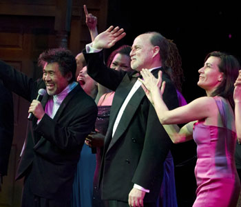 David Henry Hwang, Robert Kelley, and Jeanine Tesori