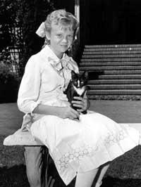 Hayley Mills as a child starin Polyanna