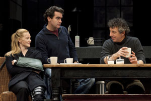 Laura Linney, Brian d'Arcy James, and Eric Bogosian
