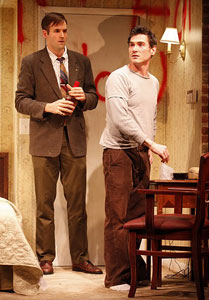 Connor Barrett and Billy Crudup