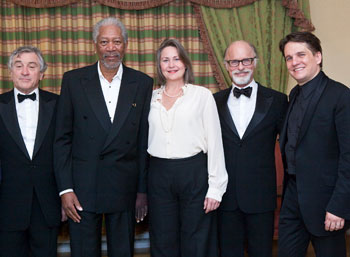 Robert De Niro, Morgan Freeman, Cherry Jones, Ed Harris,