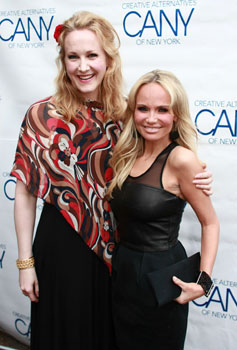 Katie Finneran and Kristin Chenoweth
