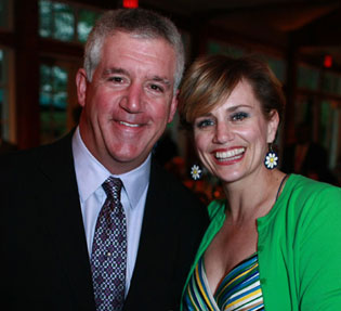 Gregory Jbara and Cady Huffman