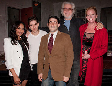 Monica Raymund, Michael Zegen, Evan Cabnet, John Larroquette,