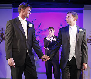 Reichen Lehmkuhl, Fabio Taliercio, and Anthony Wilkinson 