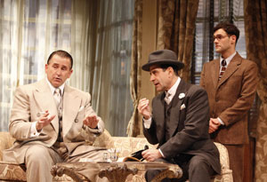 Anthony LaPaglia, Tony Shalhoub, and Justin Bartha