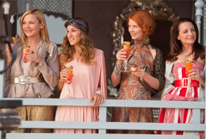 Kim Cattrall, Sarah Jessica Parker, Cynthia Nixon, and Kristin Davis in Sex and the City 2
