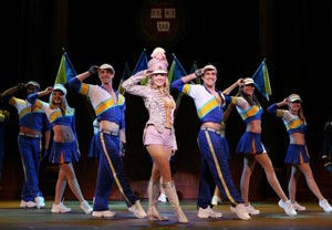 Becky Gulsvig and company in Legally Blonde