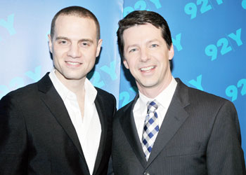 Jordan Roth and Sean Hayes