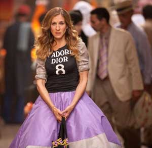Sarah Jessica Parker in Sex and the City 2
