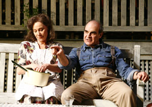 Zoe Wanamaker and David Suchet