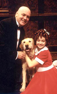 Rich Hebert and Sarah Hyland in Annie(Photo: Gerry Goodstein)