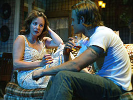 Margaret Colin and Chad Allen in Temporary Help(Photo: © Joan Marcus)