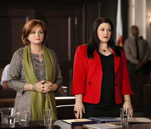 Faith Prince and Brooke Elliott in Drop Dead Diva