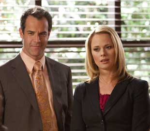 Josh Stamberg and Kate Levering in Drop Dead Diva