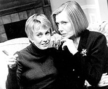 Sandy Duncan and Susan Sullivanin The Fourth Wall