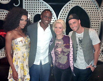 Cheaza, Wayne Brady, Holly Madison, and Josh Strickland