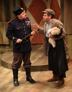 Edward Furs and Mike Burstyn in