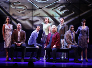 The cast of Sondheim on Sondheim