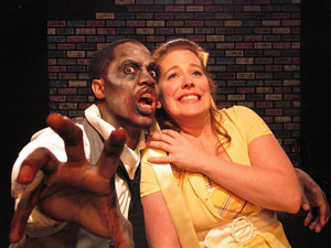 Jamaal Kendall and Nicole Patullo