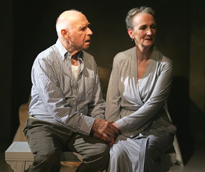 George Bartenieff and Kathleen Chalfant in Prophecy