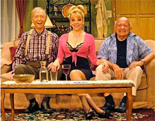 Bernie Kopell, Teresa Ganzel and Lou Cutell
