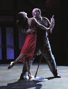 Sabina Allemann and Jack Willis