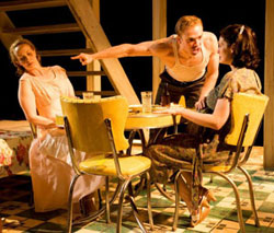 Natasha Lowe, Matt Hawkins, and Stacy Stoltz