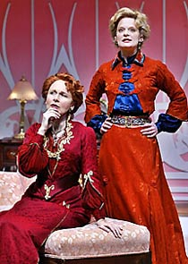 Kate Burton (l) and Martha Plimptonin Boston Marriage(Photo: © Michal Daniel)