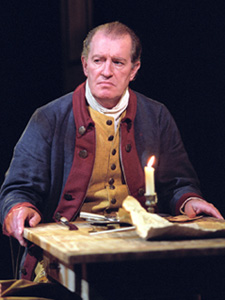 Corin Redgrave in The General From America(Photo: Charles Erickson)