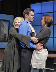 Betty Buckley, Tuc Watkins, and