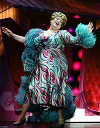 Harvey Fierstein in Hairspray(Photo: © Paul Kolnik)